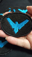 Load image into Gallery viewer, Nightwing patch (inspired by source material)