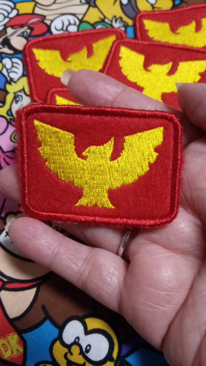 Captain Falcon patch (inspired by source material)
