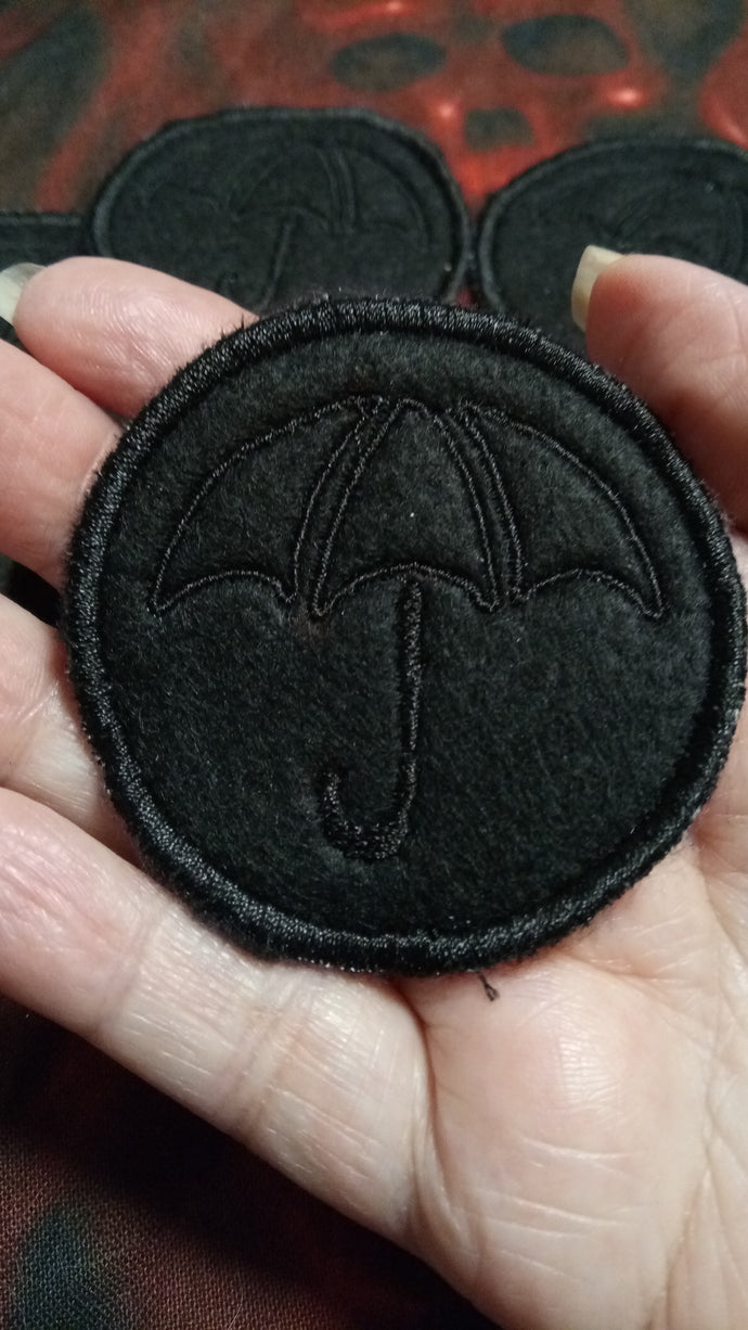 Umbrella Academy patch - on black(inspired by source material)