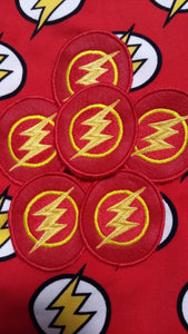 Flash patch (inspired by source material)