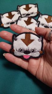 Appa patches (inspired by source material)