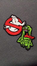Load image into Gallery viewer, Ghostbusters and Slimer *glows in the dark* patch set