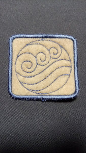 Water element patch