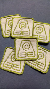 Earth element patch