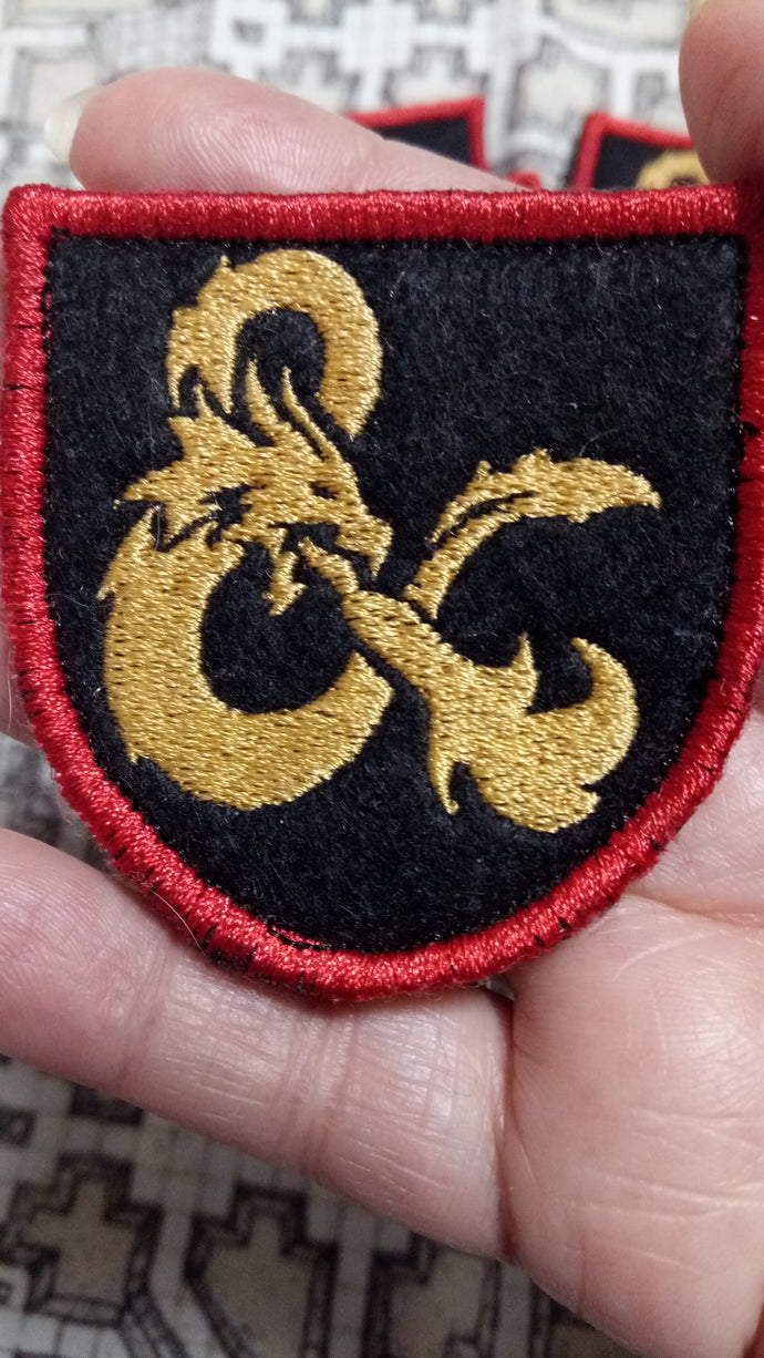 Dungeons and Dragons patch (Inspired by source material)