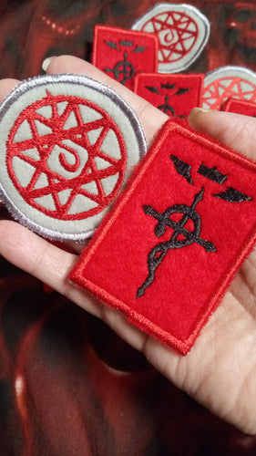 Full metal alchemist patches (Inspired by source material)