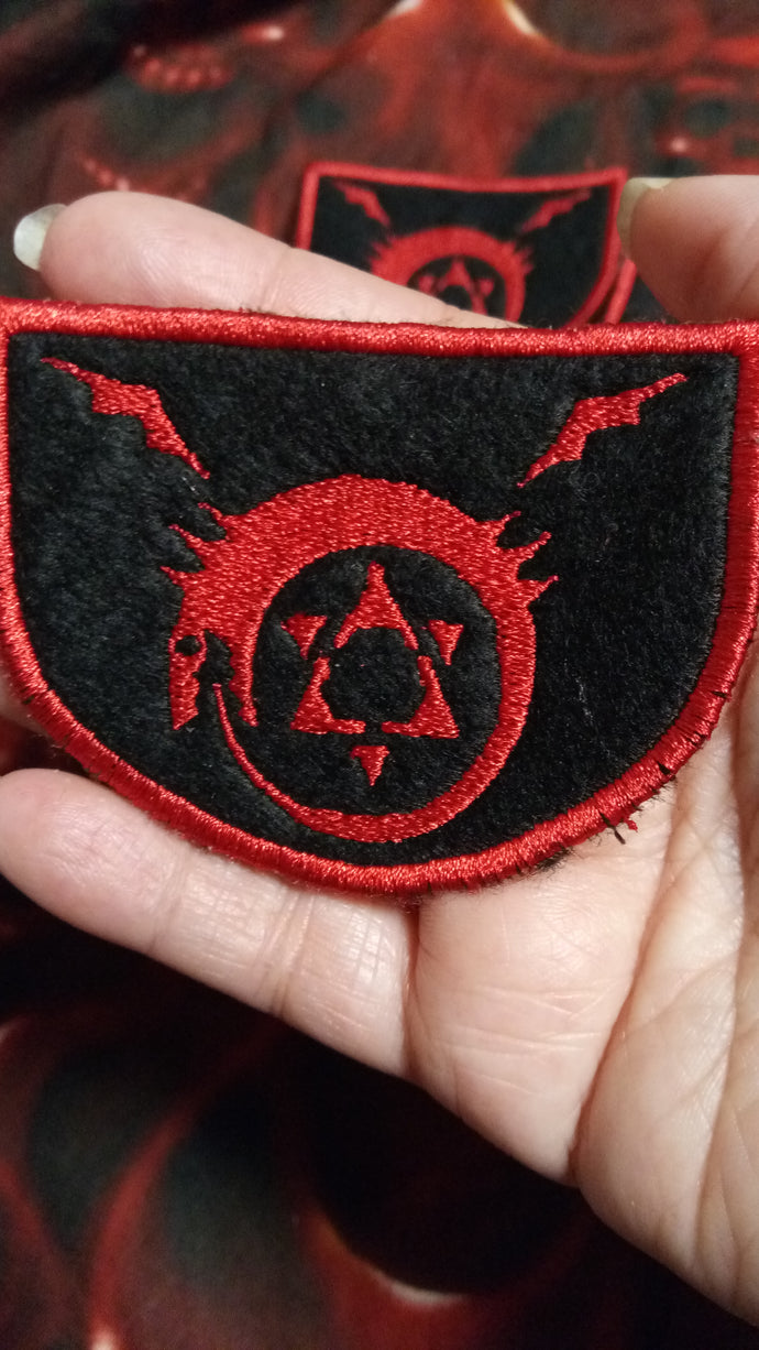 Full metal alchemist Homunculus patch (Inspired by source material)