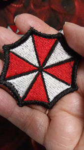Resident Evil Umbrella Corp patch (Inspired by source material)