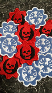Gears of War patches (Inspired by source material)