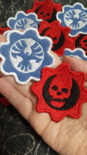 Load image into Gallery viewer, Gears of War patches (Inspired by source material)