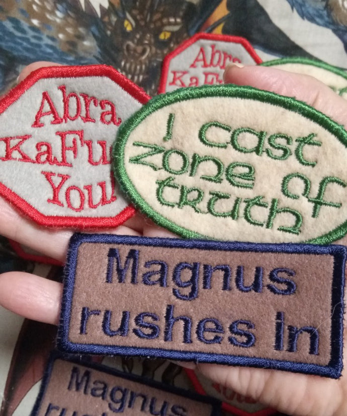 Adventure Zone patches (Inspired by source material)