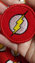 Load image into Gallery viewer, DC Comics Flash patch (Inspired by source material)