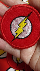 DC Comics Flash patch (Inspired by source material)