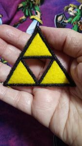 Legend of Zelda: Triforce patch (Inspired by source material)