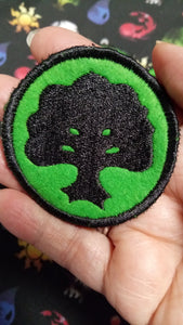 Magic the Gathering: FORESTS patches (Inspired by source material)