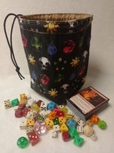 Load image into Gallery viewer, Magic The Gathering Dice Bag