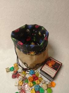 Magic The Gathering Dice Bag