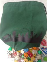 Load image into Gallery viewer, Lord of the Rings: 9 Companions Dice Bag