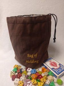 Bag of Holding Dice Bag