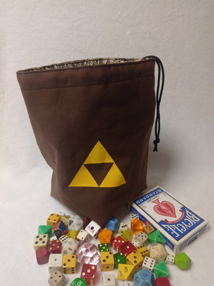 Legend of Zelda Dice Bag