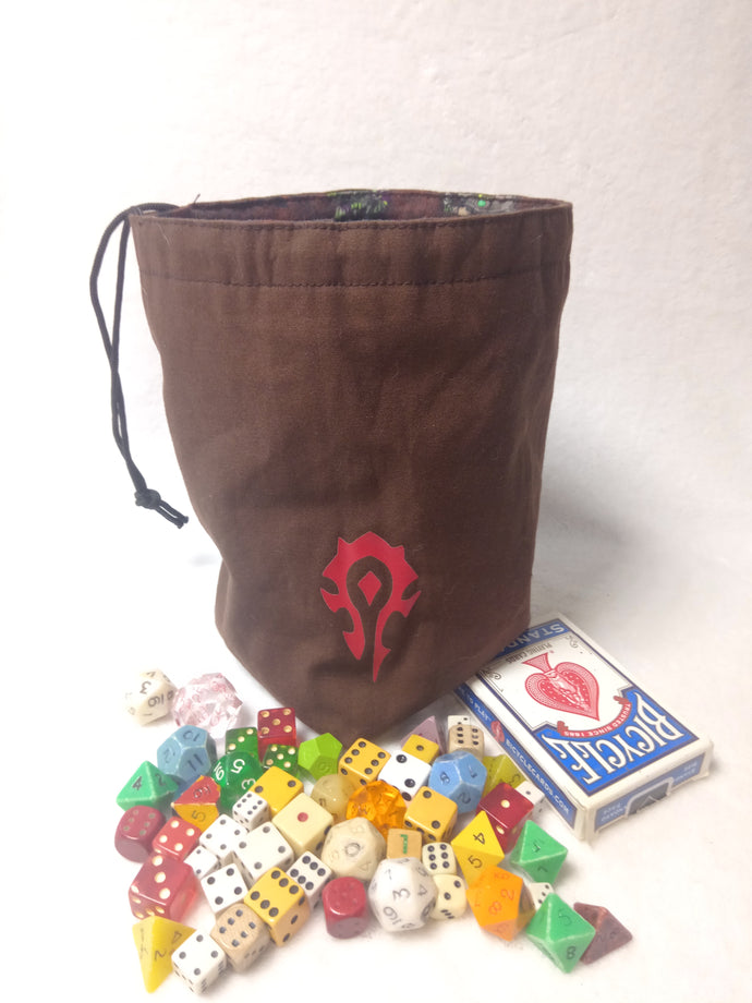 WoW: Horde Dice Bag