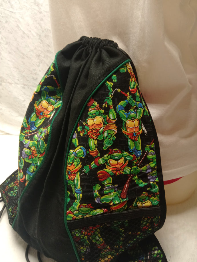 Teenage Mutant Ninja Turtles Drawstring panel Backpack