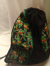 Load image into Gallery viewer, Teenage Mutant Ninja Turtles Drawstring panel Backpack