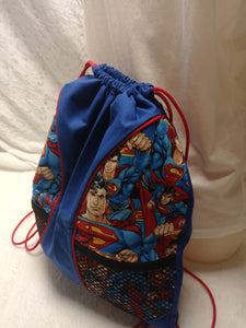 Superman Drawstring panel Backpack