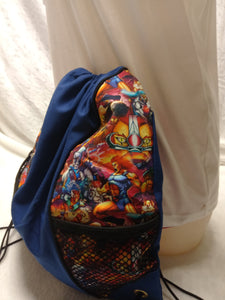 Thundercats Drawstring panel Backpacks