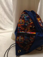 Load image into Gallery viewer, Thundercats Drawstring panel Backpacks