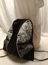 Load image into Gallery viewer, Nightmare Before Christmas Drawstring panel Backpack