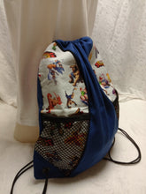 Load image into Gallery viewer, Streetfighter Drawstring panel Backpack