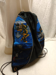 Transformer Drawstring panel Backpack