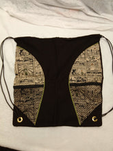 Load image into Gallery viewer, Zelda Map Drawstring panel Backpack