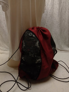 Supernatural Drawstring panel Backpack