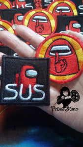 Among Us SUS patch (inspired by source material)