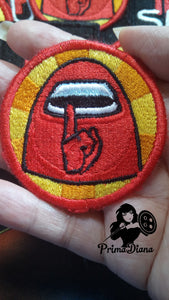 "Among Us ""Shhhhhh"" Patch (inspired by source material)"