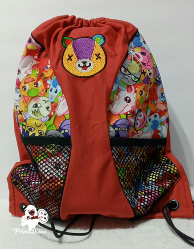 Animal Crossing panel Backpack