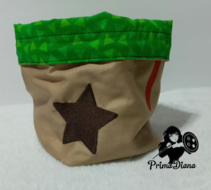 Animal Crossing Bell Bag Dice Bag