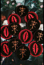 Load image into Gallery viewer, Lord of the Ring: Eye of Sauron and Tolkien initial patches (inspired by source material)