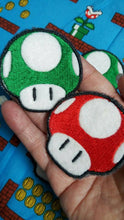 Load image into Gallery viewer, Mario mushrooms patches (inspired by source material)