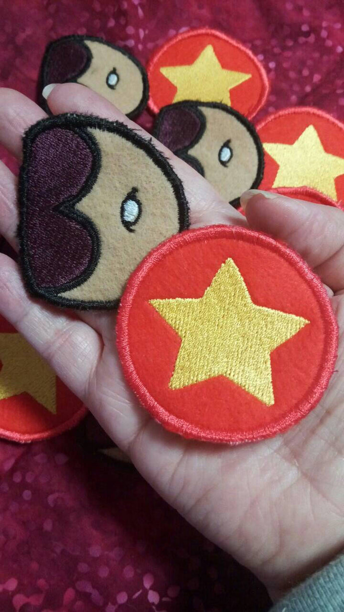 Steven Universe patches (inspired by source material)