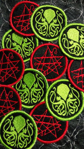 H.P. Lovecraft patches (inspired by source material)