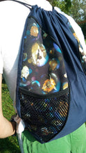 Load image into Gallery viewer, Labyrinth Drawstring panel Backpack