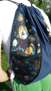 Labyrinth Drawstring panel Backpack