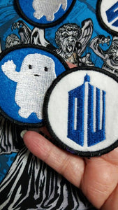 Doctor Who patches (Inspired by source material)