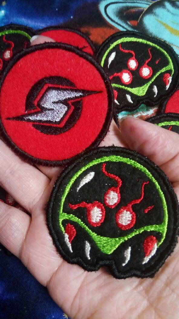 Metroid patches (Inspired by source material)