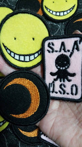 Assassination Classroom Patches (Inspired by source material)