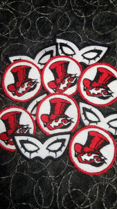Persona 5 patches (Inspired by source material)