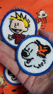 Calvin and Hobbes patches